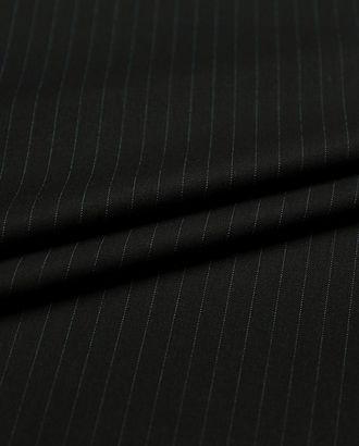 Классическая костюмная ткань в пунктирную полоску (266 гр/м2) арт. ГТ-3755-1-ГТ0000389