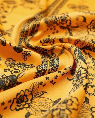Плательная ткань Кади с оригинальными бордюрами арт. ГТ-3774-1-ГТ0000411