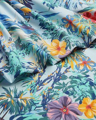 Хлопковая ткань с принтом тропический пейзаж арт. ГТ-3779-1-ГТ0000416