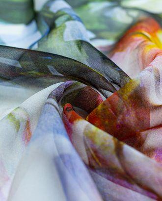 Шелковый шифон с цветочным узором арт. ГТ-4288-1-ГТ-42-5796-10-21-1