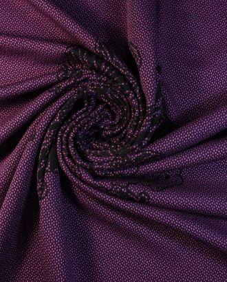 Трикотаж купонная ткань, черничный фреш арт. ГТ-1352-1-ГТ0042797