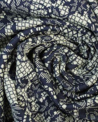 Ажурные цветы на вискозном трикотаже арт. ГТ-1379-1-ГТ0043128