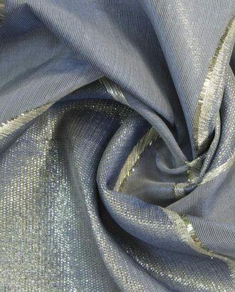 Шелковая органза серебристого цвета арт. ГТ-1392-1-ГТ0043166