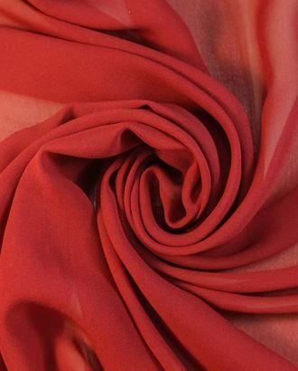 Шелк, цвет спелого томата арт. ГТ-1415-1-ГТ0043362