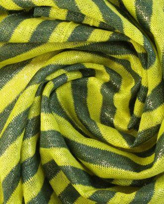 Тонкая трикотажная ткань в полоску арт. ГТ-1426-1-ГТ0043429