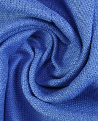 Льняная рогожка дивного синего цвета арт. ГТ-1430-1-ГТ0043435