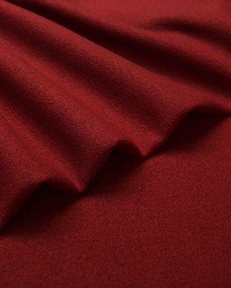 Пальтовый лоден, дублированный неопреном, бордового цвета арт. ГТ-4803-1-ГТ-45-6397-1-5-1