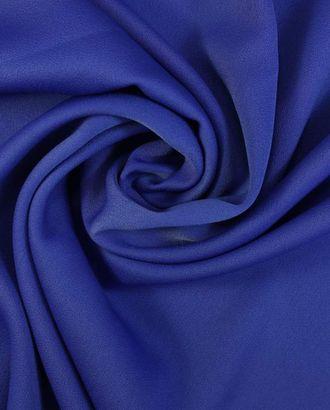 """Ткань плательная """"Кади"""" ослепительно синего цвета арт. ГТ-1579-1-ГТ0045109"""