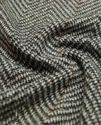 Разноцветная двухсторонняя пальтовая ткань в крупную елочку арт. ГТ-1588-1-ГТ0045119