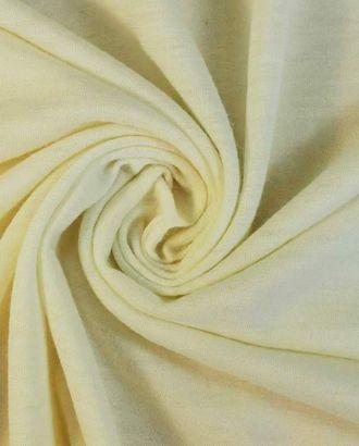 Тонкий шерстяной трикотаж молочного цвета арт. ГТ-1590-1-ГТ0045121