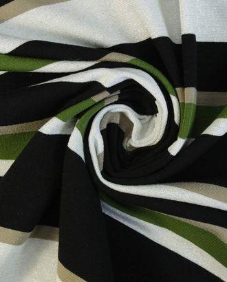Вискозный трикотаж в разноцветную полоску арт. ГТ-1603-1-ГТ0045136