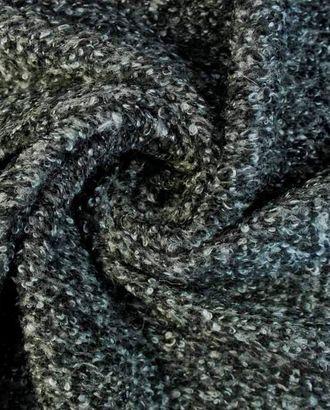 Меланжевый трикотаж серо-черного цвета арт. ГТ-1612-1-ГТ0045147