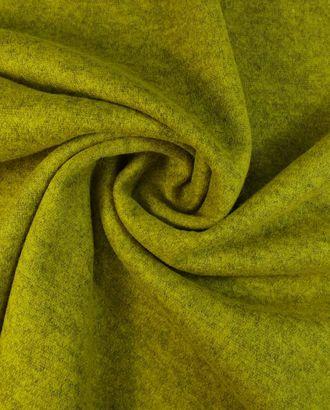 Шерстяной трикотаж горчичного цвета арт. ГТ-1614-1-ГТ0045149