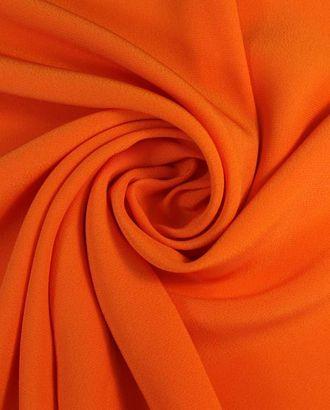 """Ткань плательная двухсторонняя """"Кади"""", оранжевое пламя арт. ГТ-1624-1-ГТ0045261"""