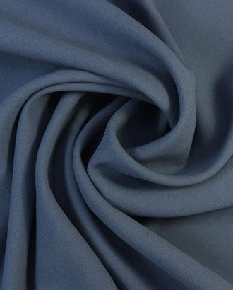 """Ткань плательная двухсторонняя """"Кади"""", цвет бурного моря арт. ГТ-1626-1-ГТ0045263"""