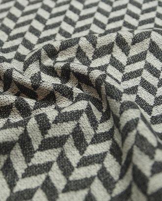 Ткань пальтовая двухсторонняя, елочка в серых тонах арт. ГТ-1634-1-ГТ0045275