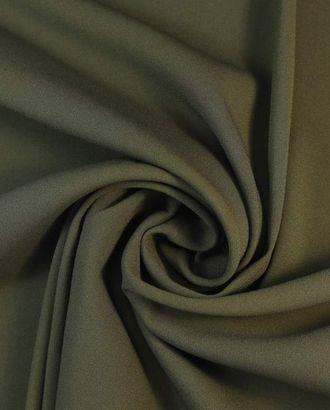 """Ткань плательная двухсторонняя """"Кади"""", цвет милитари оливковый арт. ГТ-1661-1-ГТ0045311"""