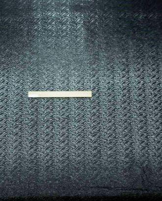 Ткань курточная купонная стеганая двухсторонняя (раппорт 1,3м) черного цвета арт. ГТ-1670-1-ГТ0045320