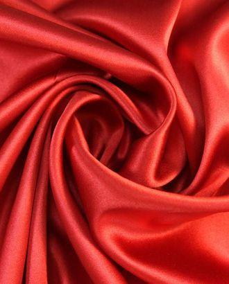 Шелк блузочный, однотонный, цвет красный арт. ГТ-1953-1-ГТ0045980