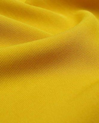 Ткань плательная, однотонная, цвет ярко-желтый арт. ГТ-2551-1-ГТ0047325