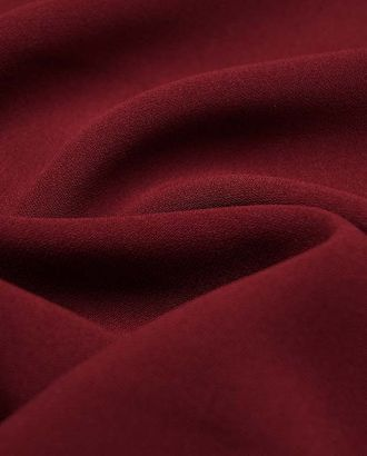 Ткань плательная, Кади, однотонная, цвет бордовый арт. ГТ-2567-1-ГТ0047343