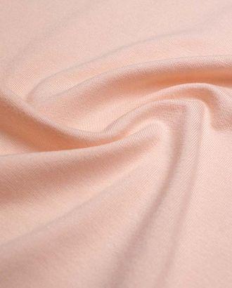 Трикотаж футболочный, однотонный, цвет персиковое облако  (235 г/м2) арт. ГТ-2596-1-ГТ0047374