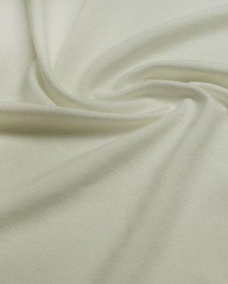 Трикотаж футболочный однотонный, цвет экрю  (235 г/м2) арт. ГТ-2597-1-ГТ0047376