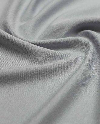 Трикотаж футболочный вискозный однотонный, цвет серебристо-серый  (235 г/м2) арт. ГТ-2610-1-ГТ0047389