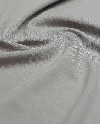 Вискозный трикотаж футболочный однотонный, цвет серого миража  (235 г/м2) арт. ГТ-2611-1-ГТ0047390