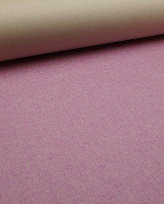 Ткань пальтовая меланжевая двухсторонняя, цвет бежево-розовый арт. ГТ-2716-1-ГТ0047509