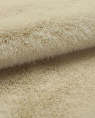 Искусственный мех с длинным ворсом ванильного цвета арт. ГТ-2737-1-ГТ0047530