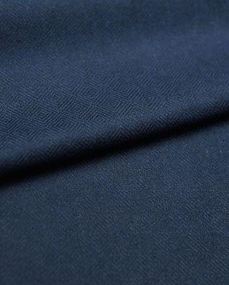 Двухсторонняя костюмная ткань черно-синего цвета арт. ГТ-2770-1-ГТ0047627