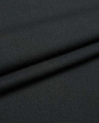 Классическая костюмная ткань черного цвета арт. ГТ-2771-1-ГТ0047628