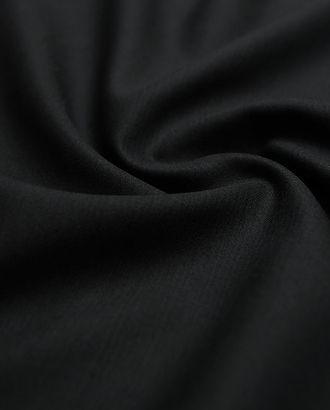 Классическая костюмная ткань угольно-черного цвета арт. ГТ-2776-1-ГТ0047634