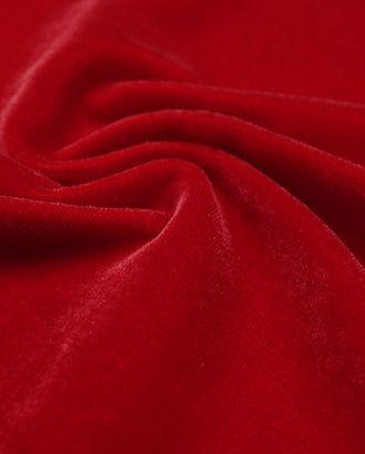 Изысканный бархат ярко-красного цвета арт. ГТ-2864-1-ГТ0047733
