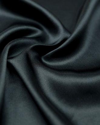 Прекрасный шелк угольно-черного цвета арт. ГТ-2870-1-ГТ0047739