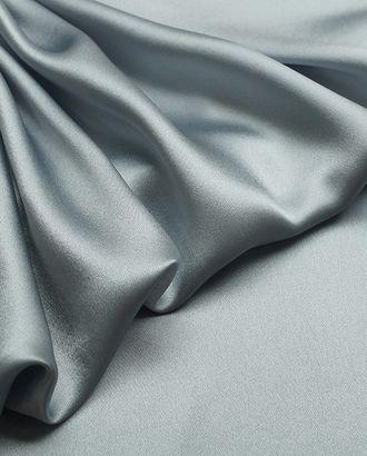 Великолепный блузочный шелк стального цвета арт. ГТ-2881-1-ГТ0047750