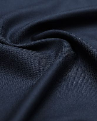 Прекрасная костюмная ткань глубокого синего цвета арт. ГТ-2893-1-ГТ0047771