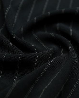 Элегантная костюмная ткань в двойную полоску арт. ГТ-2897-1-ГТ0047775