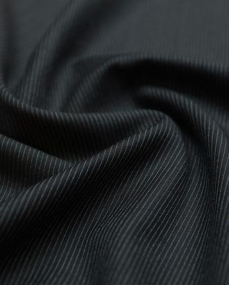 Прекрасная 2-х сторонняя костюмная ткань в тонкую полоску арт. ГТ-2898-1-ГТ0047776