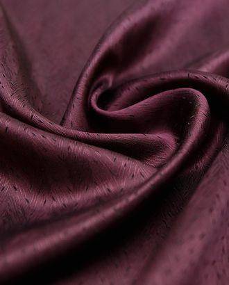 Шелковая подкладочная ткань в елочку темно-вишневого цвета арт. ГТ-2920-1-ГТ0047800