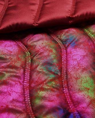 2-х сторонняя курточная стеганая ткань, цвет хамелеон  (150 г/м2) арт. ГТ-2946-1-ГТ0047826