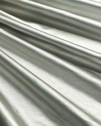 Превосходная экокожа серебрянного цвета арт. ГТ-2984-1-ГТ0047864