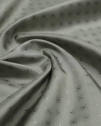 Жаккардовая подкладочная ткань с геометрическим рисунком арт. ГТ-3001-1-ГТ0047881