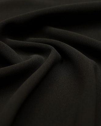 Костюмная ткань цвета черного кофе арт. ГТ-3009-1-ГТ0047889