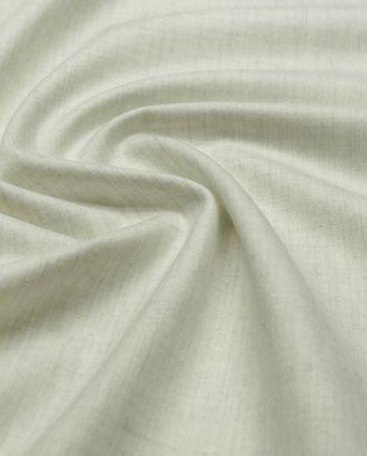 Прекрасная 2х сторонняя костюмная ткань молочного цвета с меланжевым эффектом арт. ГТ-3027-1-ГТ0047910