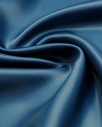 Ткань подкладочная стального синего цвета  (113 г/м2) арт. ГТ-3200-1-ГТ0047937