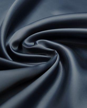 Замечательная подкладочная ткань стального синего цвета  (114 г/м2) арт. ГТ-3207-1-ГТ0047944