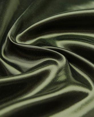 Великолепная подкладочная ткань темно-зеленого цвета  (165 г/м2) арт. ГТ-3210-1-ГТ0047947