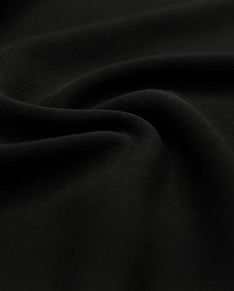 """Ткань плательная """"Кади"""", цвет черный   (270 гм2) арт. ГТ-3211-1-ГТ0047948"""